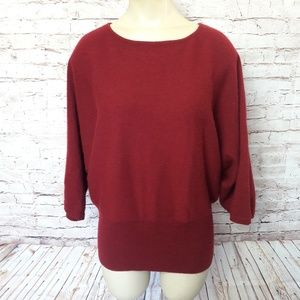 Katherine Kelly Cashmere Sweater Dolman Sleeve